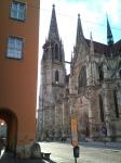 Regensburg, public art, St Peters